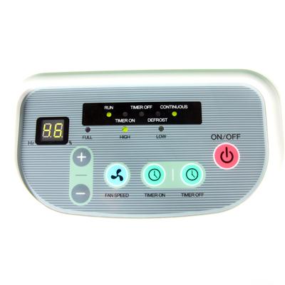Màn hình điều khiển của máy hút ẩm Fujie HM-650EB