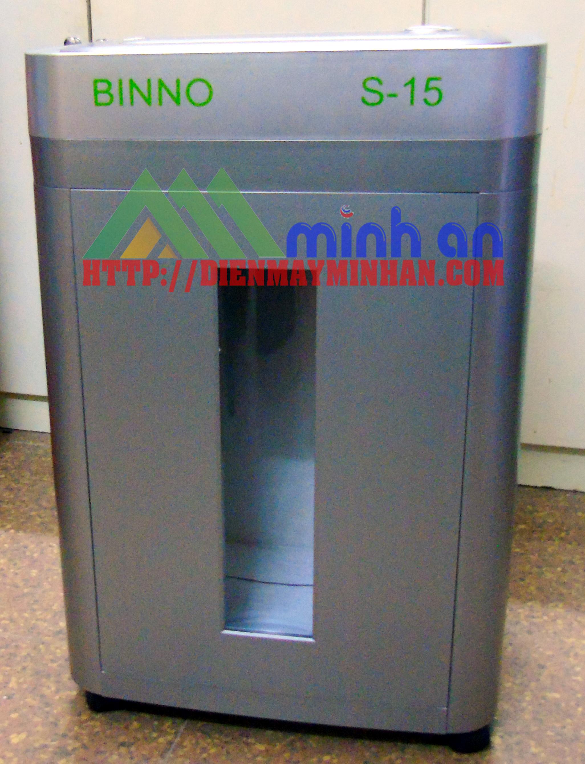Máy hủy giấy Binno S15 (siêu vụn)