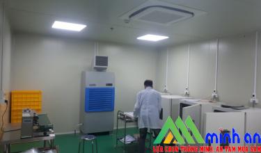 Máy hút ẩm Harison HD-192PS trong phòng sạch