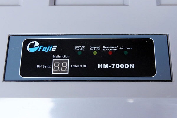 Màn hình điều khiển của HM-700DN