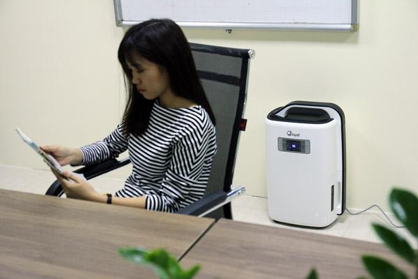 Máy hút ẩm dân dụng Fujie cho thư viện