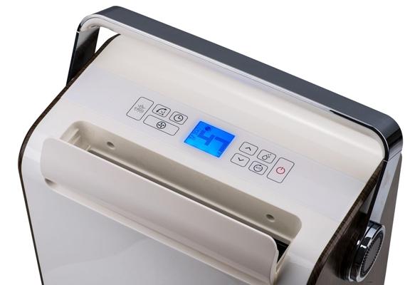 Mặt điều khiển của máy hút ẩm Fujie HM-930EC