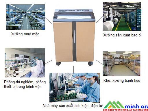 Ứng dụng của máy hút ẩm công nghiệp Harison HD-45BE