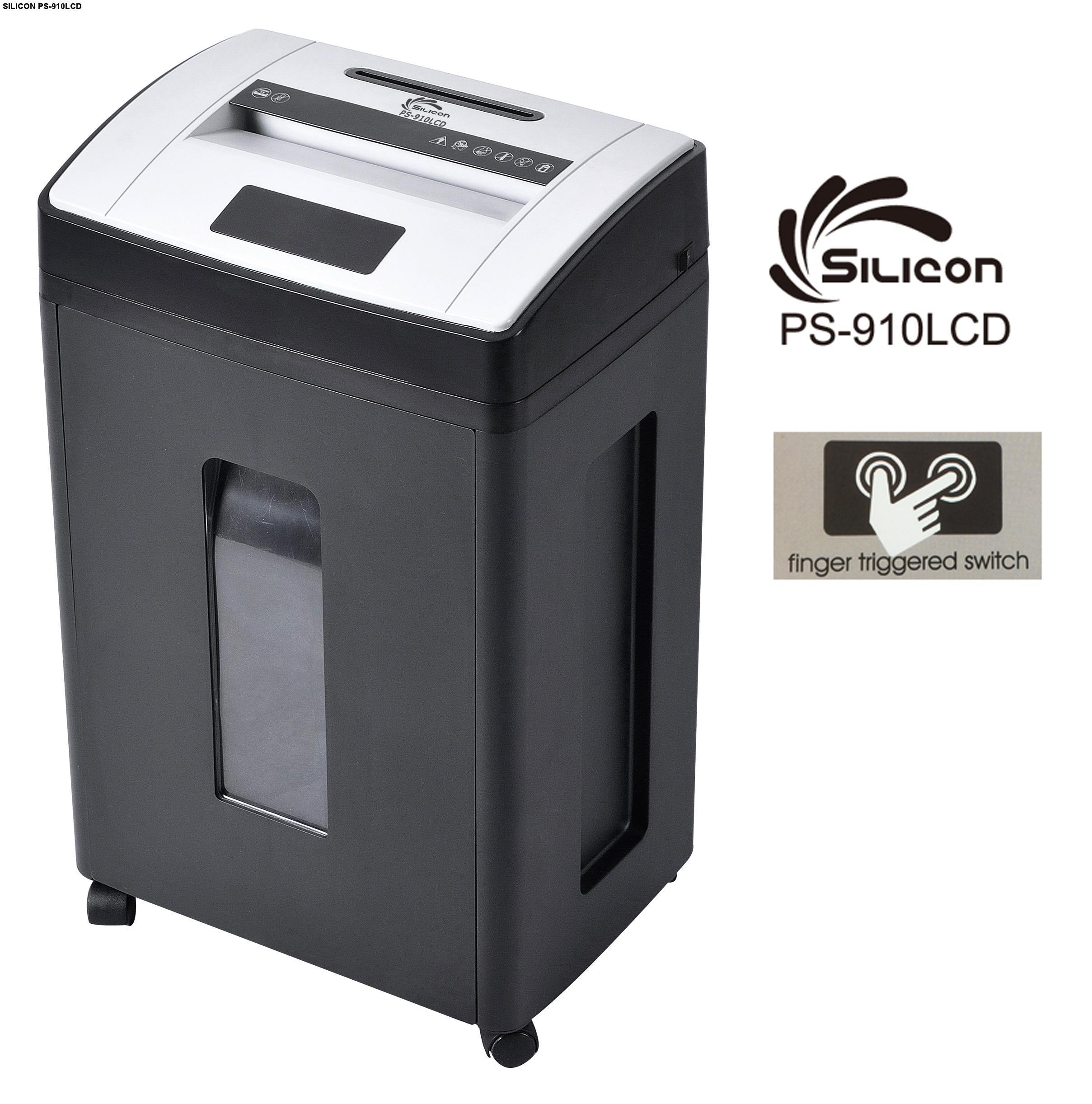 Máy hủy tài liệu Silicon PS-910LCD