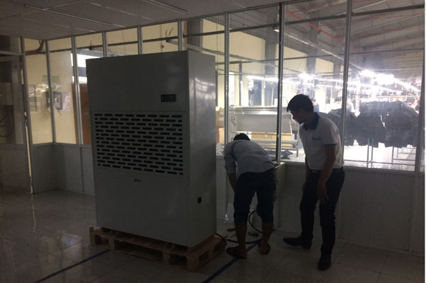 Lắp đặt máy hút ẩm Fujie HM-6480EB