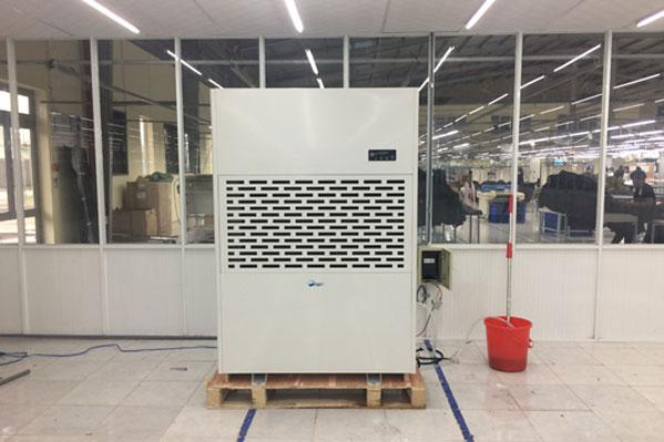 Máy hút ẩm công nghiệp Fujie HM-6480EB chính hãng