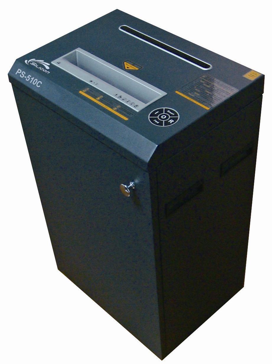 Máy hủy tài liệucông nghiệp Silicon PS-510C