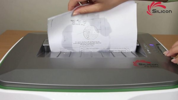 Máy hủy tài liệu Silicon PS-3000C chính hãng - Điện Máy Minh An