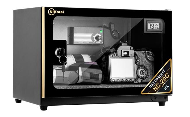 Tủ chống ẩm cao cấp Nikatei NC-20C Gold