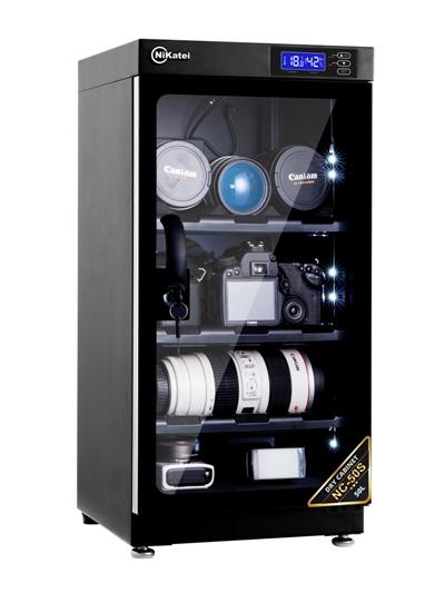 Tủ chống ẩm cao cấp Nikatei NC-50S Silver