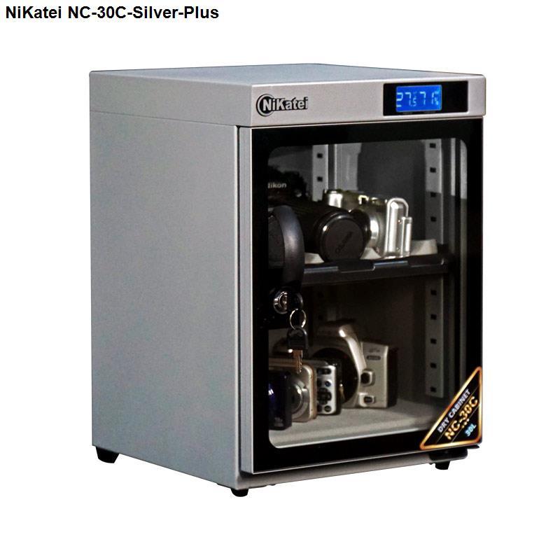 Tủ chống ẩm cao cấp NC-30C Silver Plus