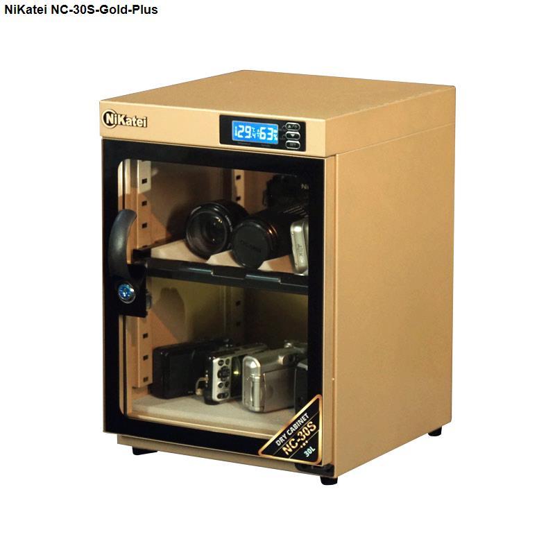 Tủ chống ẩm cao cấp Nikatei NC-30S Gold Plus