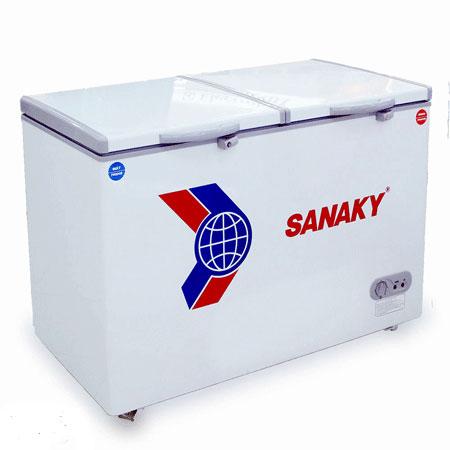 Tủ Đông Sanaky VH-225W2 220 lít 1 ngăn đông 1 ngăn mát dàn nhôm