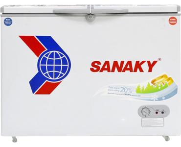 Tủ Đông Inverter Sanaky VH-3699W3 (2 Ngăn Đông, Mát 360 Lít)