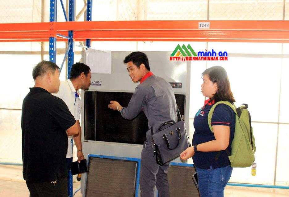 Xây dựng hệ thống máy hút ẩm công nghiệp Harison tại Campuchia