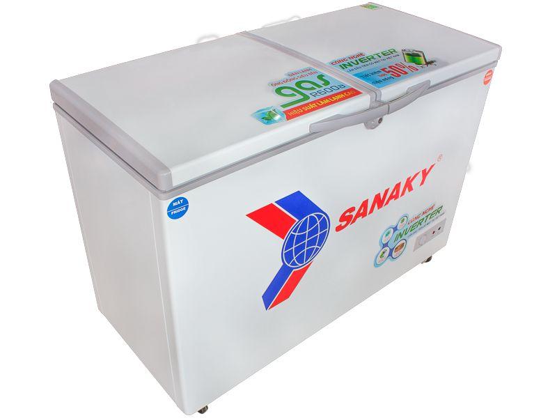 Tủ Đông Inverter Sanaky VH-2599W3 (2 Ngăn Đông, Mát 250L)