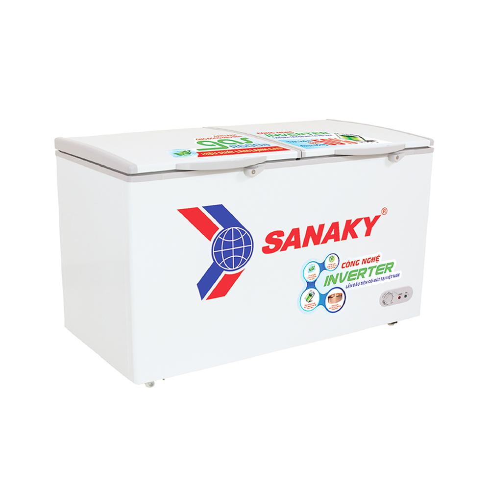 Tủ Đông Inverter Sanaky VH-2899W3 ( 2 Ngăn Đông, Mát 280 Lít)