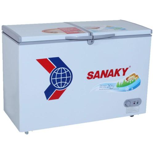 Tủ Đông Dàn Đồng Sanaky VH-2899W1 (2 Ngăn Đông,Mát 280 Lít)
