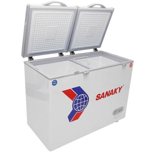 Tủ Đông Sanaky VH 405W2 ( 2 Ngăn Đông, Mát 405 Lít)