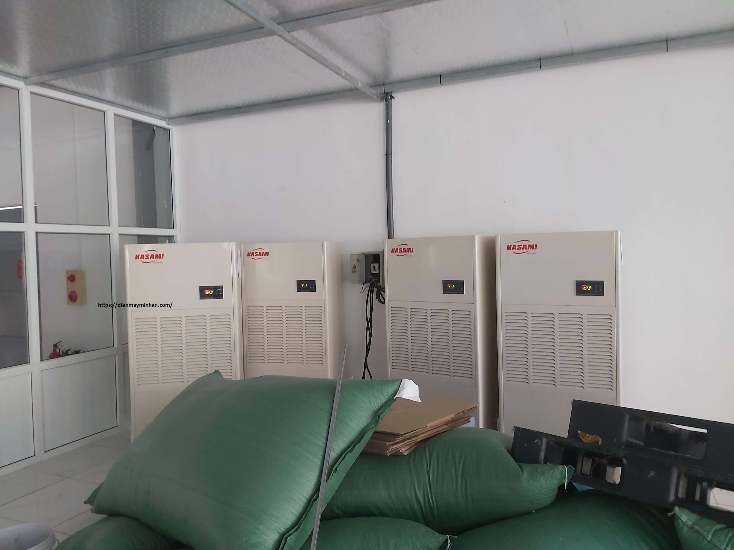 Ứng  dụng máy hút ẩm công nghiệp Kasami KD-210 ở Thanh Hóa.