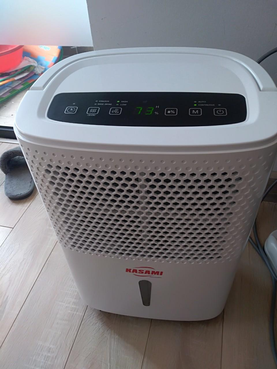 Sử dụng máy hút ẩm gia đình Kasami trong mùa đại dịch