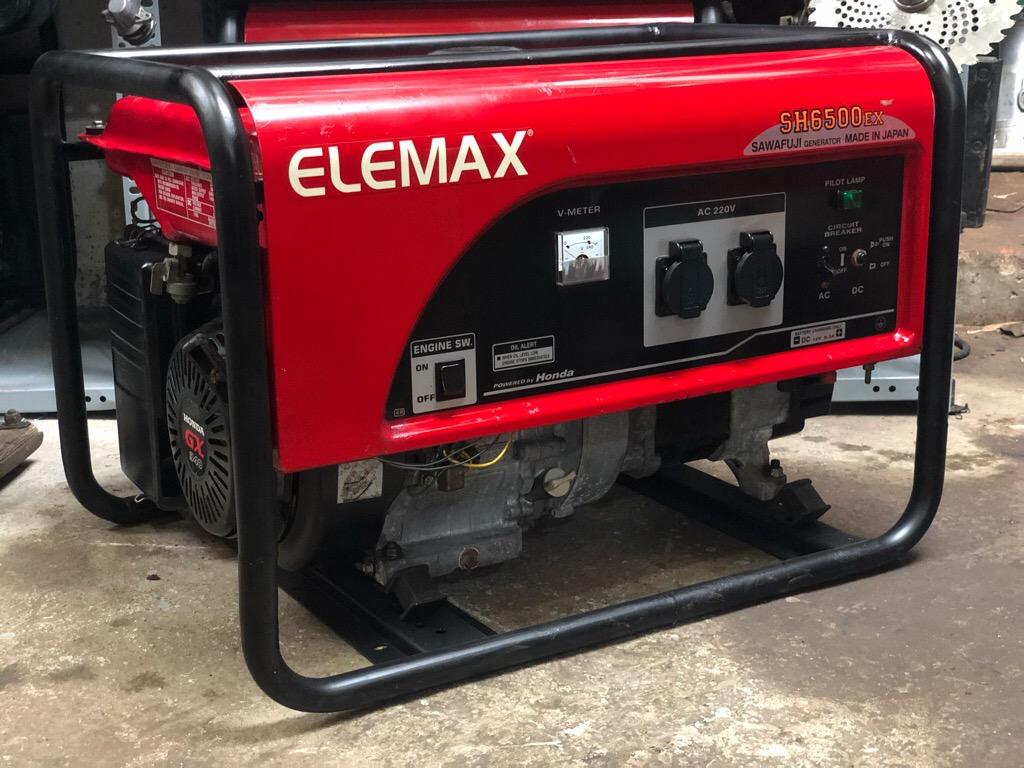 Máy phát điện Elemax SH6500EX ( Xăng, Giật nổ)
