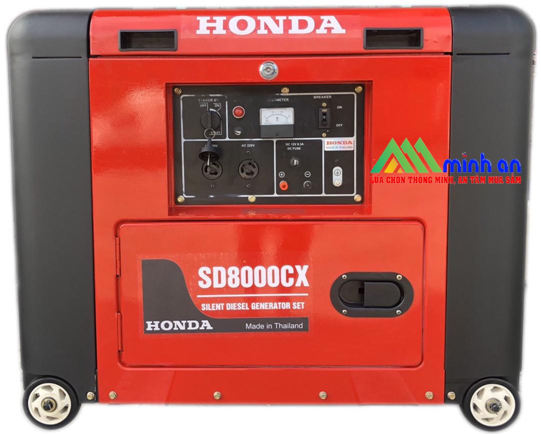 Máy phát điện Honda SD 8000EX (RED)