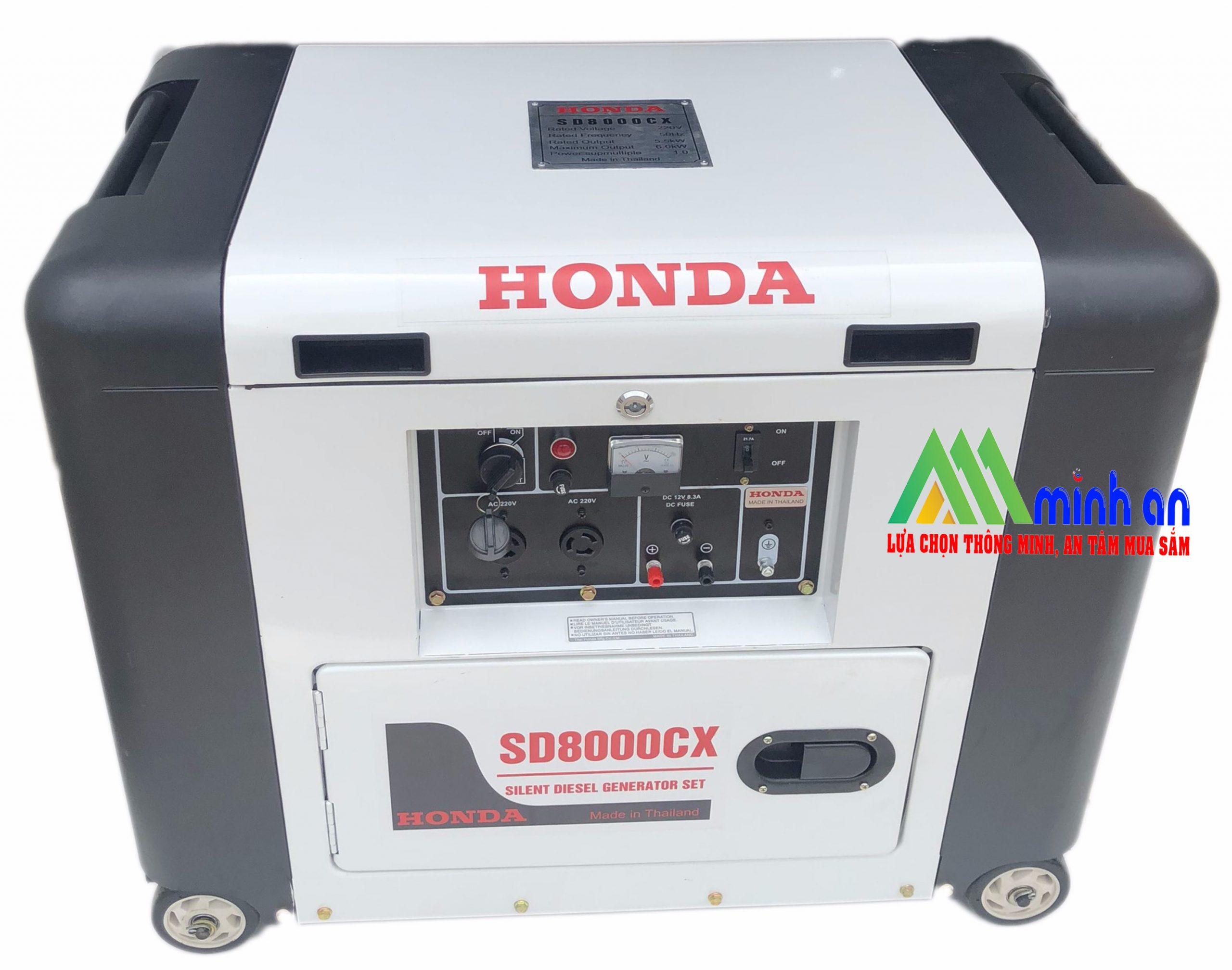 Máy phát điện Honda SD 8000EX ( Black)