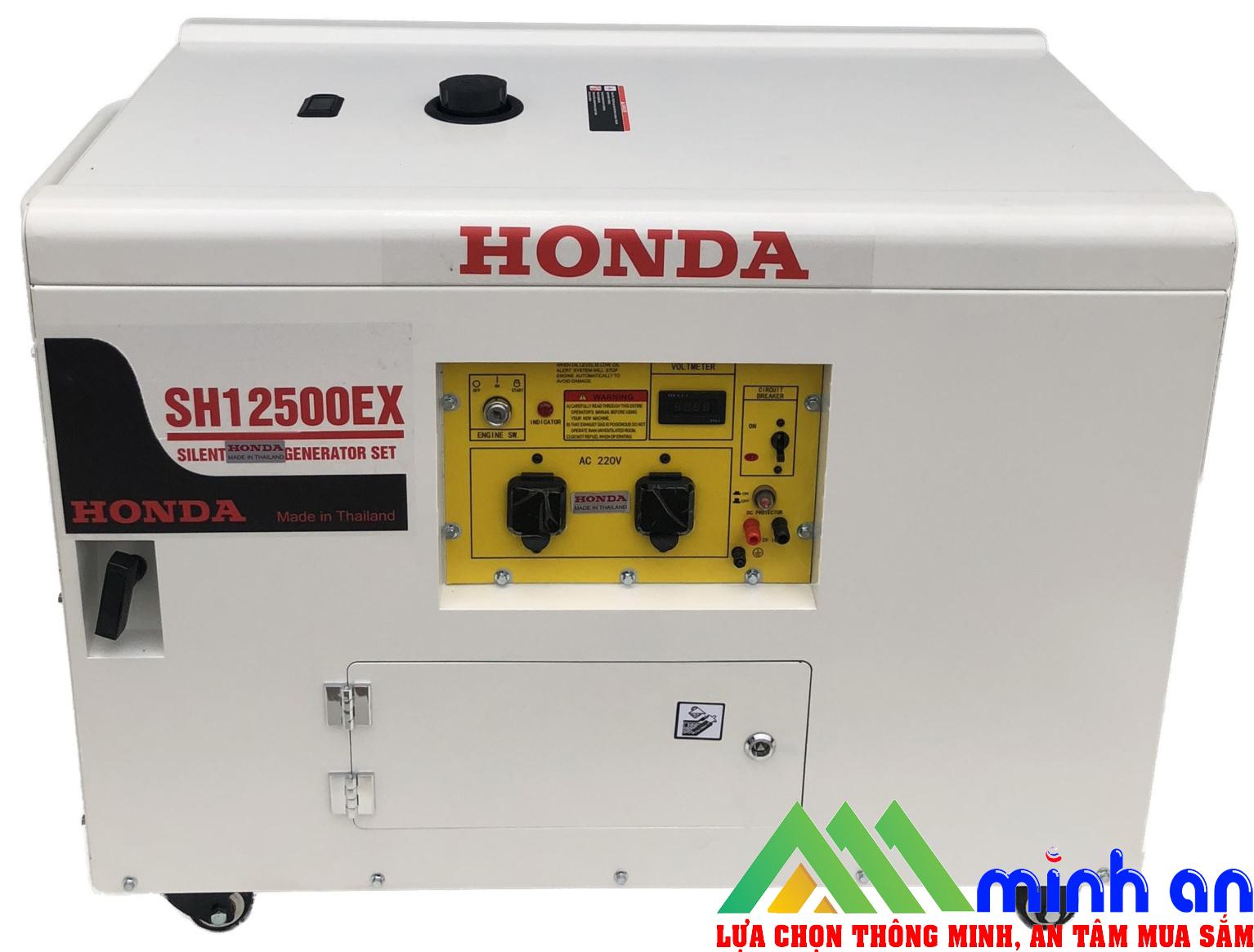 Máy phát điện Honda SH 12500EX nắp bụng