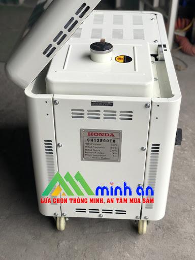 Máy phát điện Honda SH 12500EX Mở nắp trên