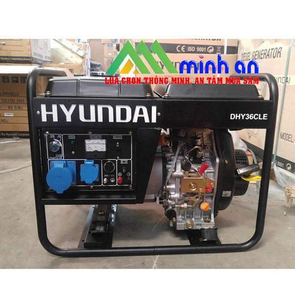 Máy phát điện chạy dầu Hyundai DHY 36CLE