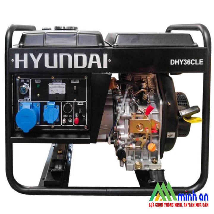 Máy phát điện Hyundai DHY36CLE chạy dầu