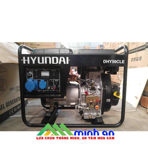 Máy phát điện chạy dầuHyundai DHY50CLE