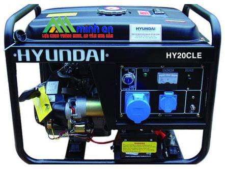 Máy phát điện Hyundai HY20CLE (2.0 – 2.2 Kva)