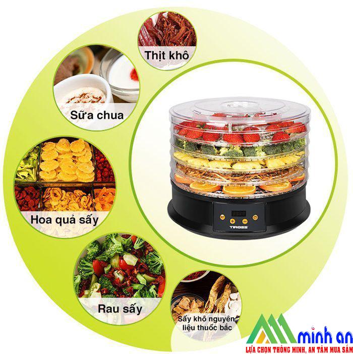 Máy sấy thực phẩm mini đa năng