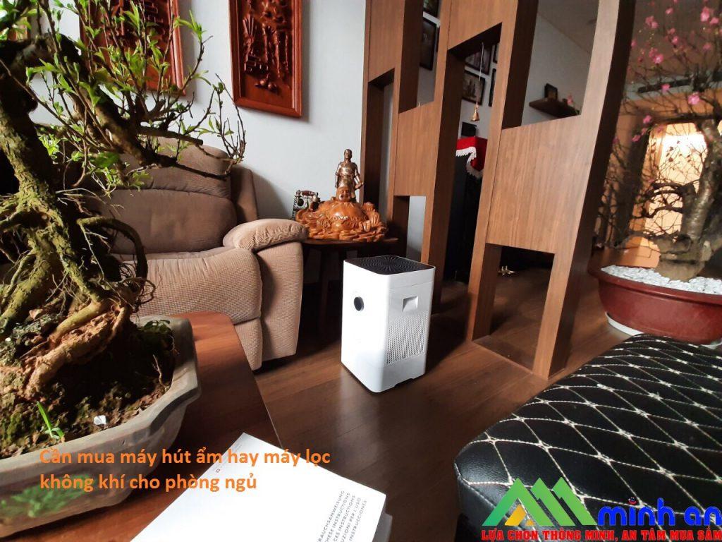 Nên mua máy hút ẩm hay máy lọc không khí
