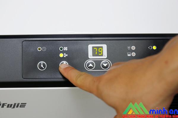 Hệ thống điều khiển của Fujie HM-950EC