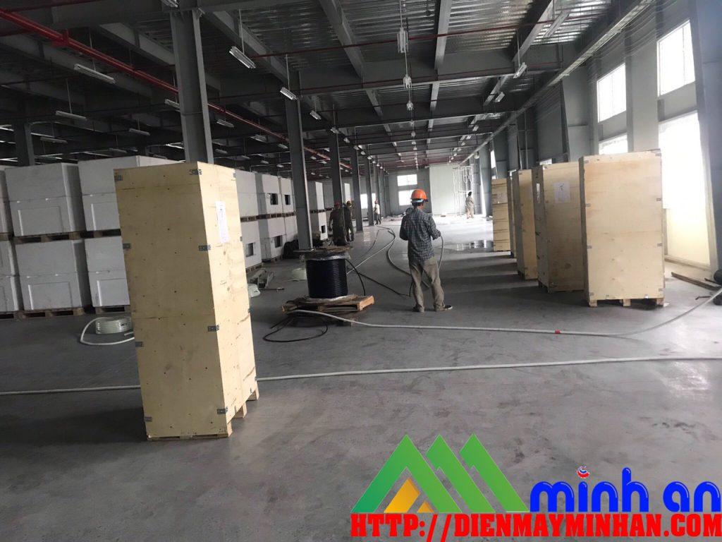 Xây dựng hệ thống máy hút ẩm công nghiệp tại Thái Bình