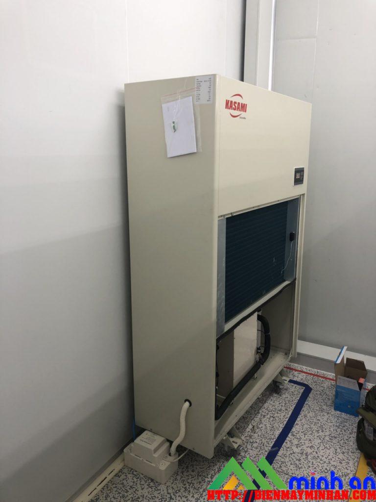 Lắp đặt máy hút ẩm công nghiệp Kasami tháng 9