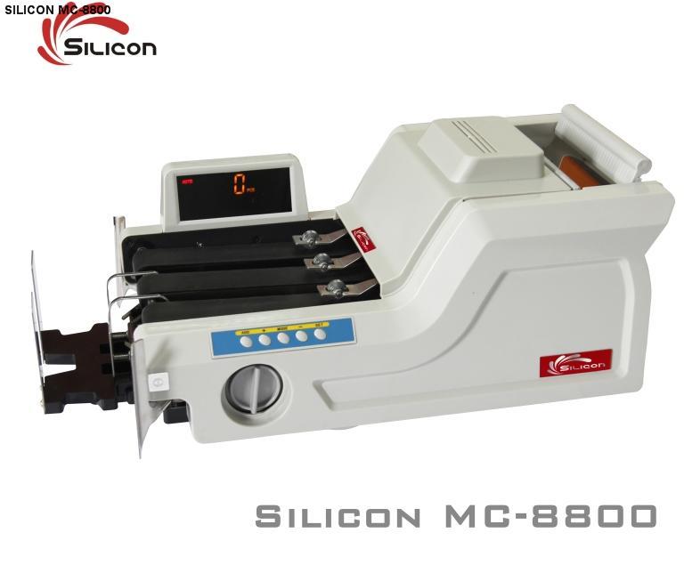 Máy đếm tiền Silicon MC- 8800