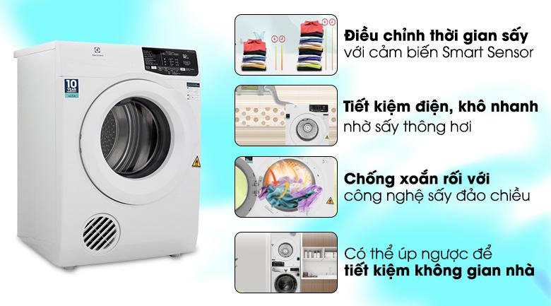 Máy sấy quần áo electrolux EDV705HQWA