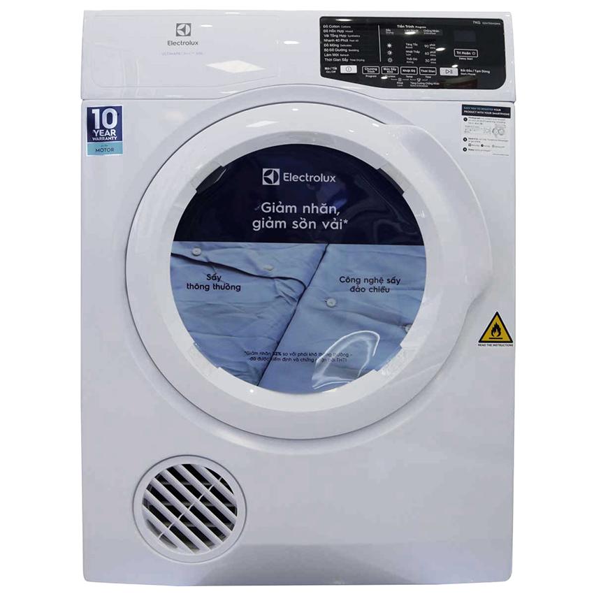 Máy sấy quần áo Electrolux 8 Kg EDV805JQWA
