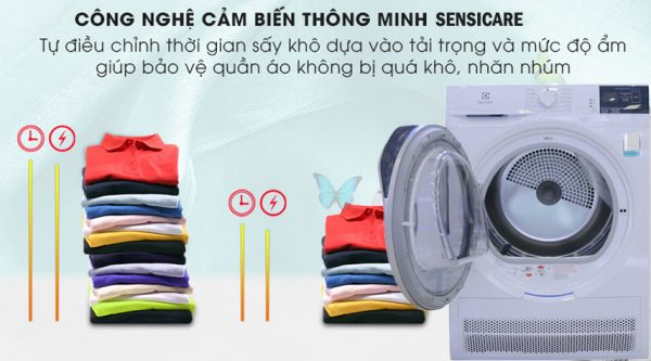 Máy sấy quần áo Electrolux 7 kg EDC704GEWA