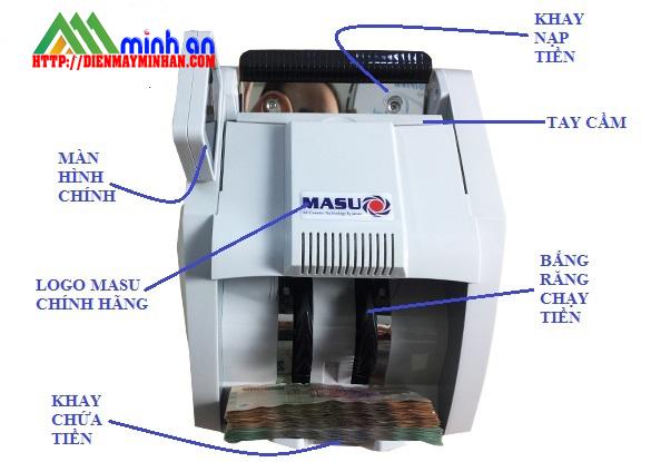 Chi tiết kỹ thuật của  Máy đếm tiền MASU 888