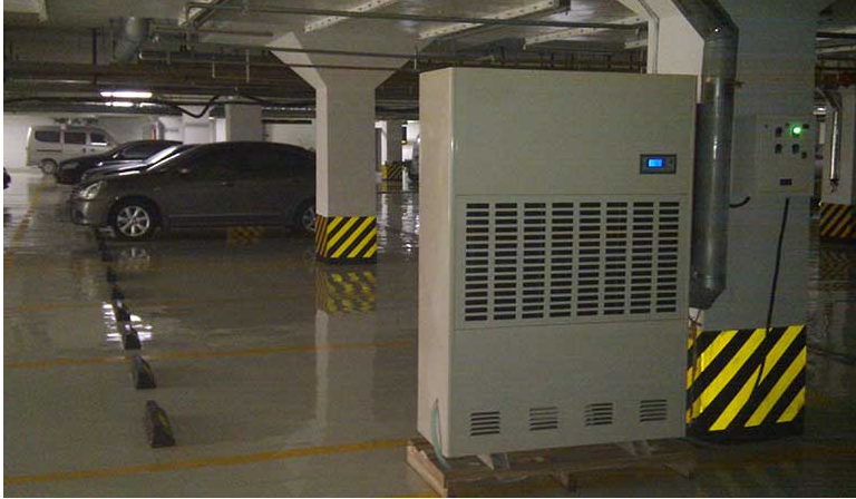 Ứng dụng máy hút ẩm công nghiệp Dorosin trong tầng hầm