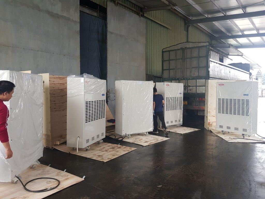 Choáng với máy hút ẩm công nghiệp Kasami KD-480
