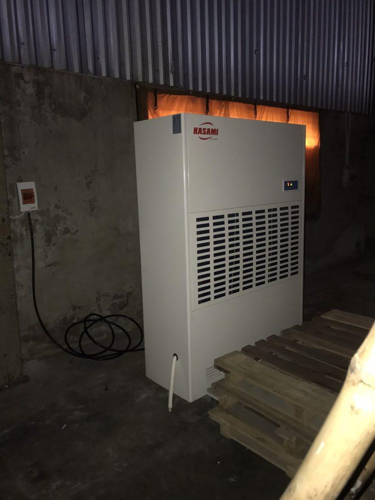 Máy hút ẩm công nghiệp Kasami KD-480 chống ẩm cho hàng hóa