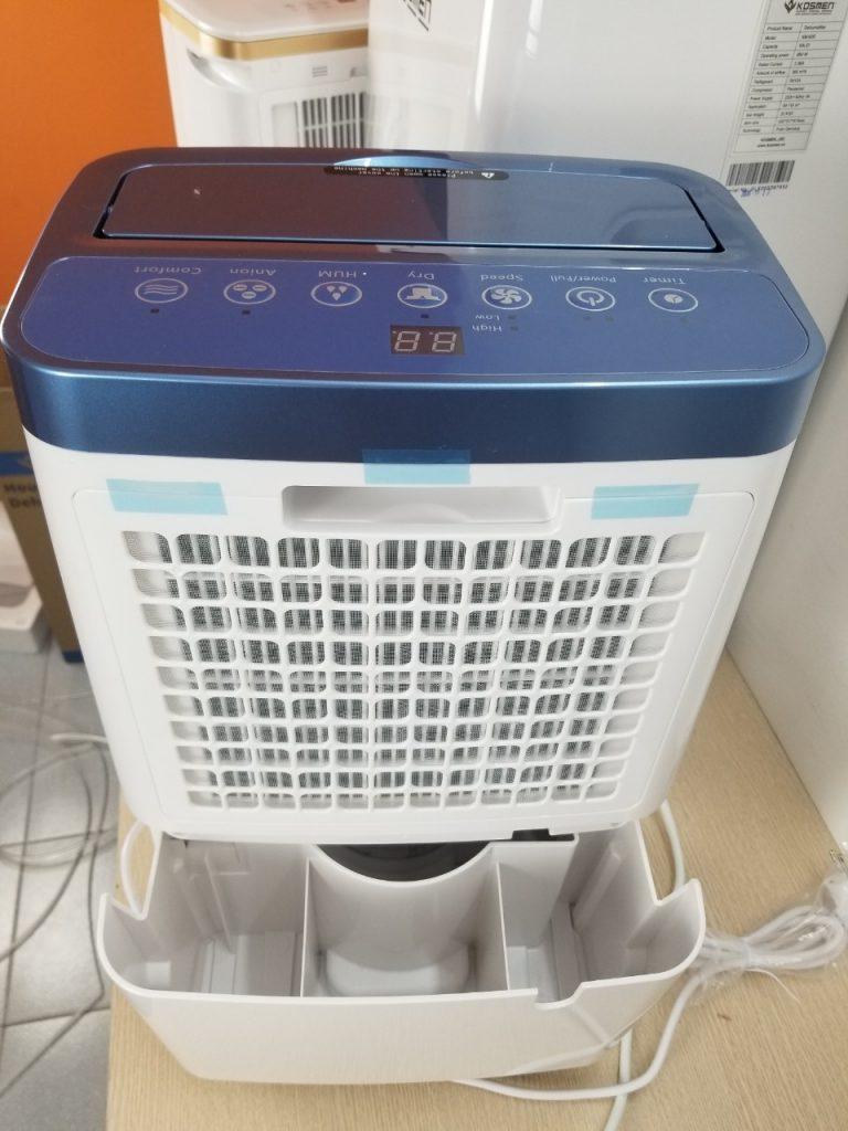 Bình chứa nước của máy hút ẩm dân dụng Kosmen KM - 20N