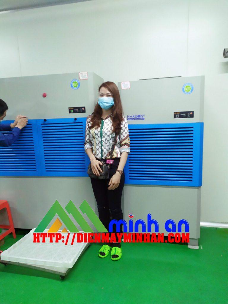 Máy hút ẩm công nghiệp Harison dùng cho phòng sạch