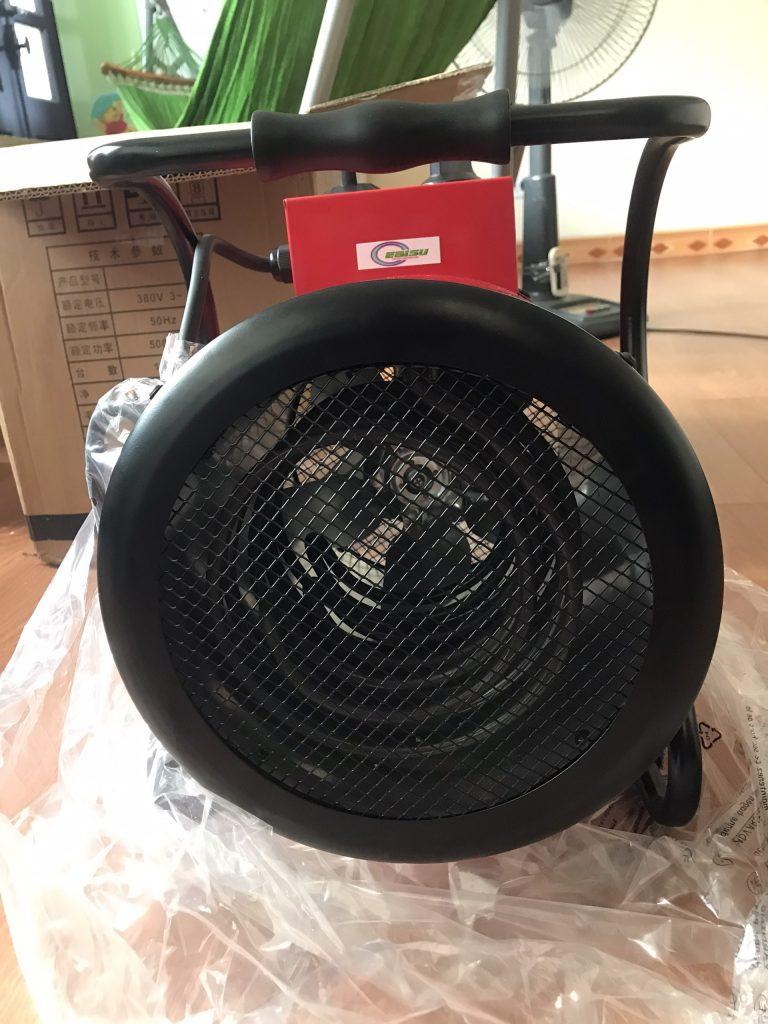 Dây điện trở của máy sấy gió nóng Ebisu EH-05